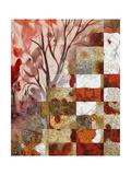 Seasons Mingle Giclee Print by Ruth Palmer