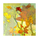 Floral Spice Shadow Giclee Print by Jan Weiss