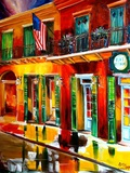 Outside Pat O Briens Bar Giclee Print by Diane Millsap