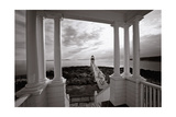 Marshall Point Light, Maine Photographic Print by George Oze