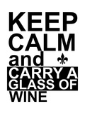 Keep Calm Giclee Print by Jan Weiss