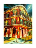 Royal Street Revelry Giclee Print by Diane Millsap