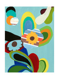 Power Pop Two Giclee Print by Jan Weiss