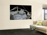 Astronauts Participate in a Session of Extravehicular Activity Wall Mural