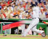 Albert Pujols 400th Home Run 2010 Action Photo