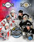 2011 NHL Winter Classic Matchup Composite Photo