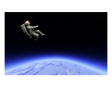Spaceman 15 Photographic Print by Chris Harvey