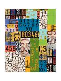 Pelos números Arte por Jan Weiss
