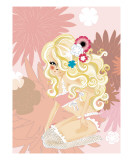 Lacey Dawl Giclee Print by Natasha Wescoat