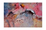 Abstract 015082 Giclee Print by  Ledent
