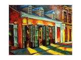 Bourbon Street Color Giclee Print by Diane Millsap