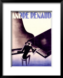 Andre Renaud Framed Giclee Print by Paul Colin