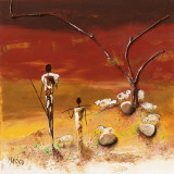 Marso - Les Bergers Obrazy
