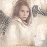 L'Ange Rebelle Print by Elvira Amrhein
