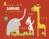 Savannah Animals Prints by Isabelle Jacque