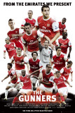 Arsenal - The Gunners Affiches
