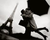 Couple in Paris Poster von Jean-Noël Reichel