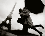 Couple in Paris Posters by Jean-Noël Reichel