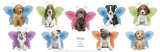 Wings Puppy Panel Affiches par Keith Kimberlin