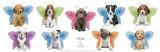 Wings Puppy Panel Kunstdrucke von Keith Kimberlin