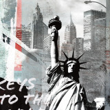Vapaudenpatsas Poster tekijänä Gery Luger
