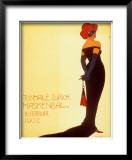 Tonhale Zurich Maskenbal, 1907 Posters