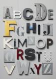 'ABC' Poster von Louis Gaillard