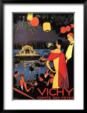 Vichy, Comite des Fetes Posters by Roger Broders