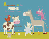 Farm Animals Posters by Isabelle Jacque