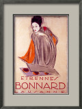 Bonnard Framed Giclee Print by Charles Loupot