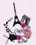 Paris, Blossom Paradise Affiches par Émilie Ramon