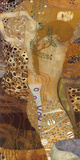 Sea Serpents II, c.1907 Plakater av Gustav Klimt