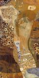 Sea Serpents II, c.1907 Kunst von Gustav Klimt