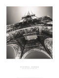 Eiffel Tower, Study 3, Paris, France, 1987 Poster von Michael Kenna