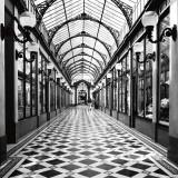 Passage des Princes, Paris Posters par Dave Butcher