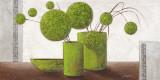 Brimming Green Balloons Posters par Karsten Kirchner
