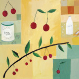 Cherries Prints by Aurelia Fronty