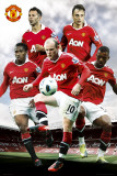 Manchester United - players Posters