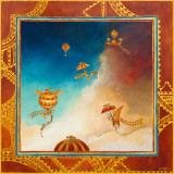Voyage En Ballon Posters af Bernadette Pottiez