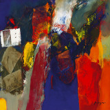 Variations Abstraites XVI Poster von Pascal Magis