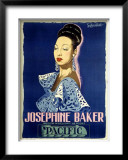 Josephine Baker Framed Giclee Print