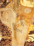水蛇 I 1907年 ポスター : グスタフ・クリムト