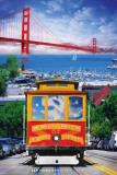 San Francisco - Cable Car Kunstdrucke