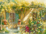 Mas Lou Figoulon Art by Johan Messely