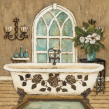 Country Inn Bath II Prints by Charlene Olson