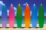 Surf Boards Print