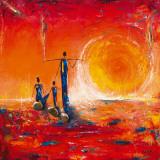Soleil Posters par  Marso