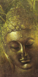 Buddha in Green ll Print by Wei Ying-wu