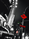 Times Square Night Posters by Anne Valverde