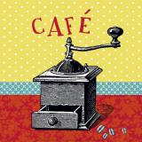 Kaffee Kunstdrucke von Helene Druvert